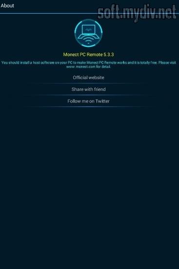 Monect PC Remote - download program Monect PC Remote for free