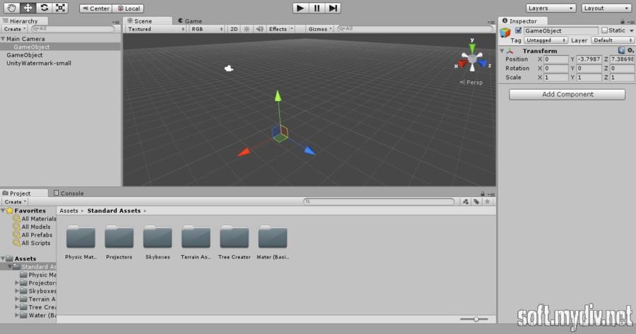 Unity 3D - download program Unity 3D for free