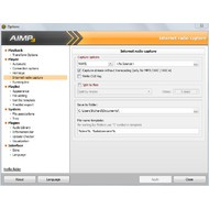 Capture radio option in AIMP