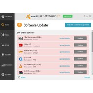 Software Updater of Avast Free Antivirus 2015