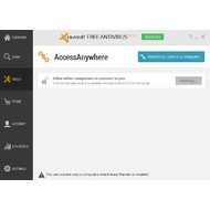 AccessAnywhere of Avast Free Antivirus 2015