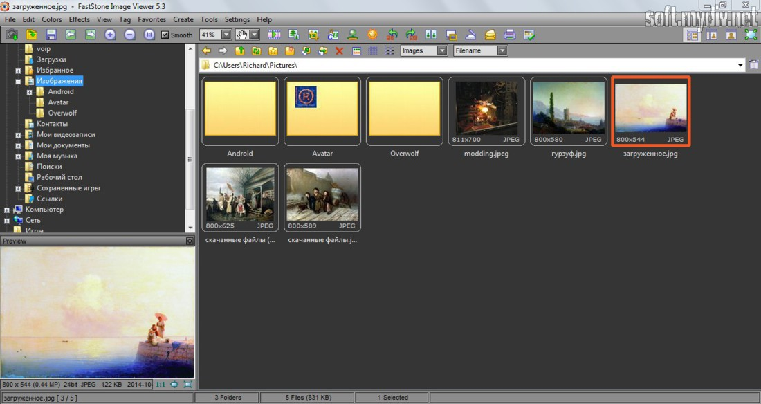 Faststone Image Viewer - download program Faststone Image