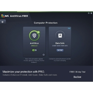 Computer protection of AVG Antivirus Free
