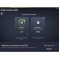 Computer protection of AVG Antivirus Free