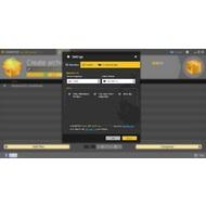 Settings menu of Hamster Free ZIP Archiver