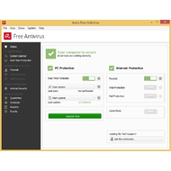 Status screen of Avira Free Antivirus