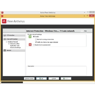 Settings of Avira Free Antivirus