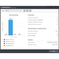 Log report in COMODO Internet Security