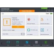 The main screen of COMODO Internet Security