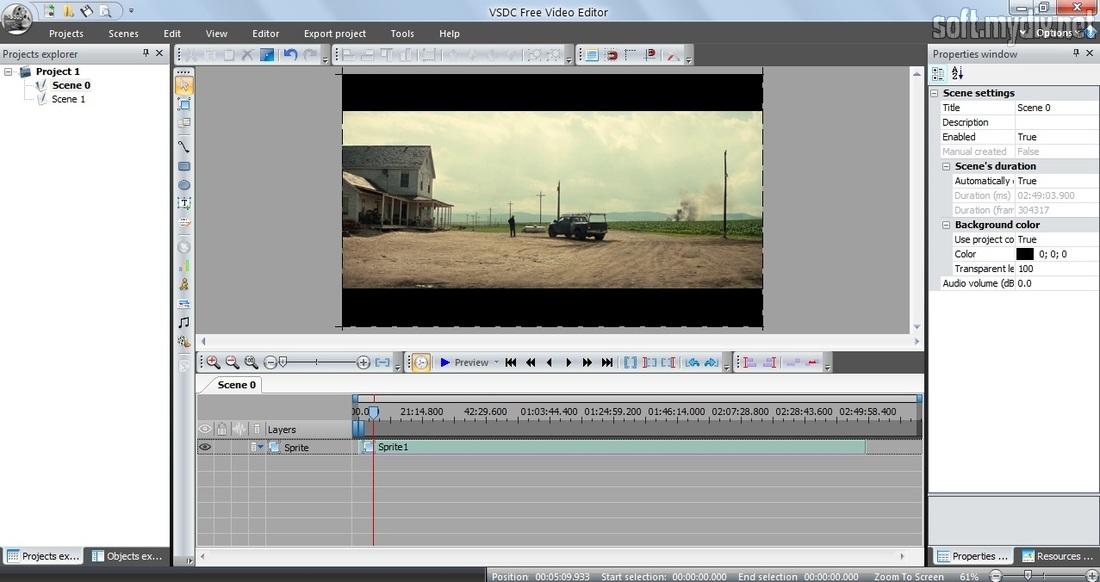 VSDC Free Video Editor - download program VSDC Free Video