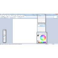 The main screen of Paint.NET