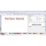 Adding a text in Inkscape