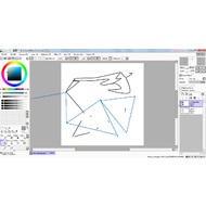 Edit tool in PaintTool SAI