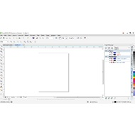 The main screen of CorelDRAW Graphics Suite