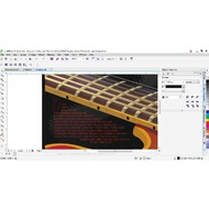 Editing the image in CorelDRAW Graphics Suite