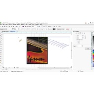 Transformations pane of CorelDRAW Graphics Suite