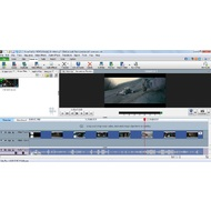 The main screen of VideoPad Vide Editor