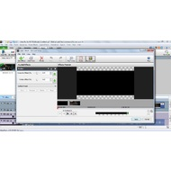 Video Effects panel of VideoPad Vide Editor