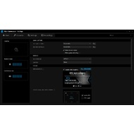 The Settings menu of XSplit Gamecaster