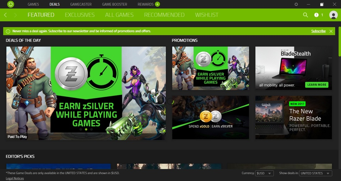 how to create account in razer cortex game booster