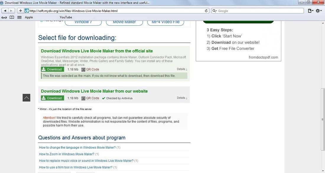Safari - download program Safari for free