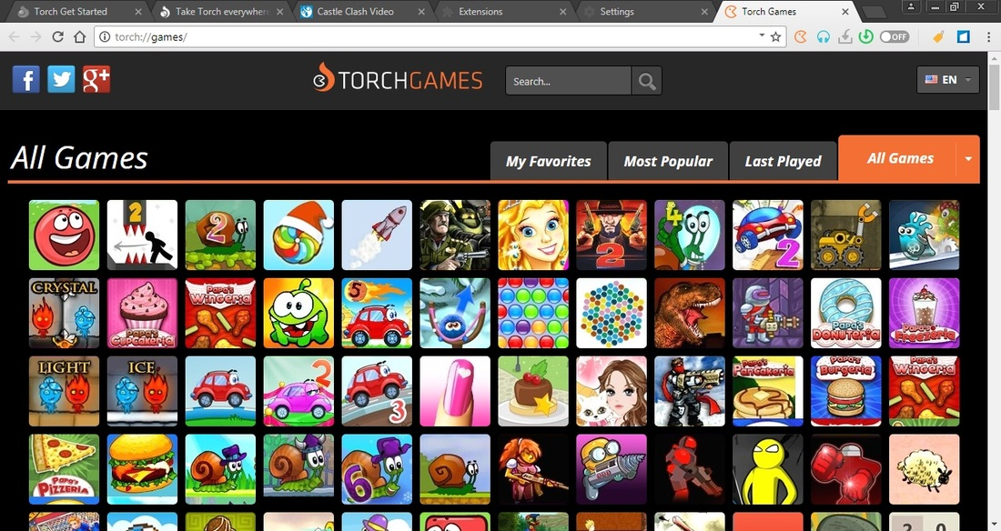 Torch Browser - download program Torch Browser for free