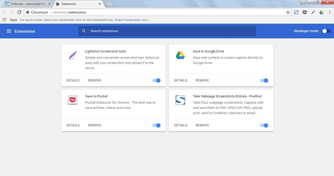 Chromium - download program Chromium for free